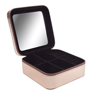 SALLY BEAUTY Rose Gold Jewelry Box